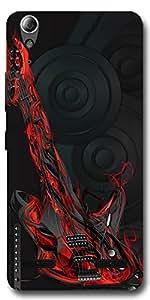 SEI HEI KI Designer Back Cover For Lenovo A6000 Plus - Multicolor