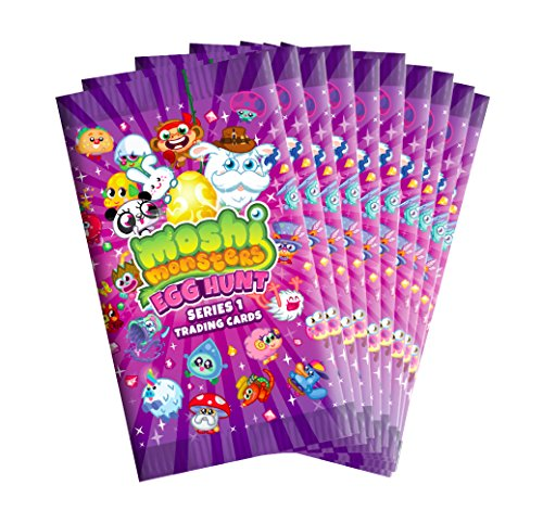 Image of Moshi Monsters Egg Hunt Trading Cards - 8 cards per pack (Series 1) (10)