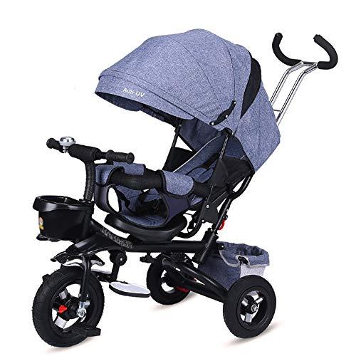 Triciclos- Bebé Plegable, Bicicleta Exterior De 3 Ruedas...