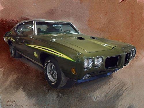 pontiac-gto-1970-peinture-numerique-sur-toile-30x40-cm