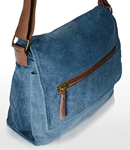 CHANTAL Firenze Borsa Messenger beige Beige Blau