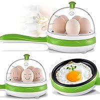 Moradiya Fresh Egg Boiler + Non-Stick Electric Frying Pan