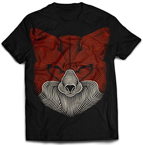 fox-3d-touchable-puff-printed-creative-mens-black-cotton-t-shirt-stand-out-large