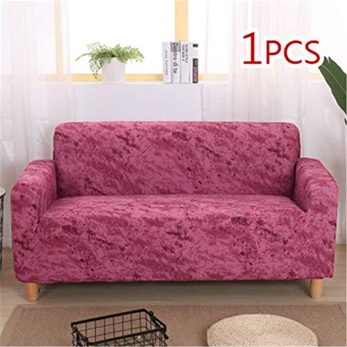 SHFOLSFH Inkjet-Muster elastische Stretch Universal Sofa Abdeckungen Schnitt Werfen Couch Ecke Cover Cases für Möbel Sessel Home Decor 5 Four seat Sofa -