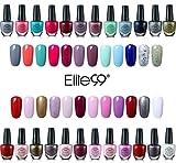 Elite99 Kit de 24pcs Esmalte de Uñas de 24 Colores Set 10ml Manicura y Pedicura - 02