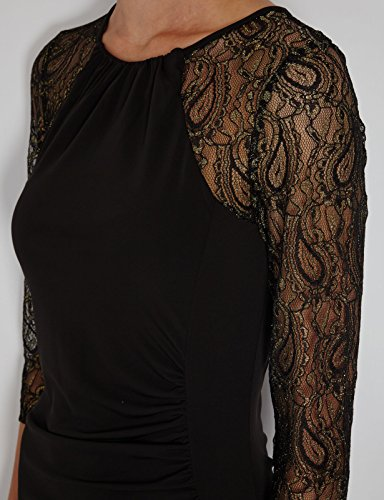 Morgan - Vestito, Donna Nero (Noir)
