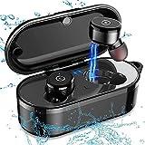 YGMDSL Bluetooth-kopfhörer Wasserdicht Kabellos luetooth-Version 5.0 Ange Standby-Zeit WS Ladebehälter inaural Stereo
