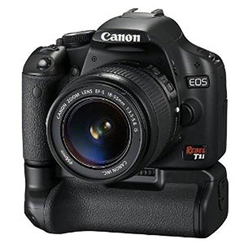 Galleria fotografica MP power @ Impugnatura Batterie battery grip Sostituzione di BG-E8 per Canon EOS 550D 600D 650D 700D Rebel T2i T3i T4i T5i Fotocamera Digitale + 2XBatterie LPE8