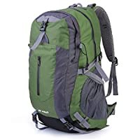 OUTAD Outdoor Camping Hiking Exploring 40L Backpack with Suspension System (Green)