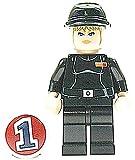 LEGO STAR WARS - Figur Juno Eclipse mit Cavalry Cap Mütze aus Bausatz 7672 genau wie abgebildet mit der Nr. 1