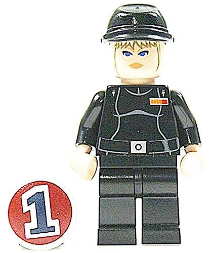 LEGO STAR WARS - Figur Juno Eclipse mit Cavalry Cap Mütze aus Bausatz 7672 genau wie...