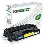 Kineco Toner Kompatibel zu HP CE505X/05X für HP Laserjet P2055D, Laserjet P2056, Laserjet P2057, Laserjet P2054, Laserjet P2053 - Schwarz 6.500 Seiten