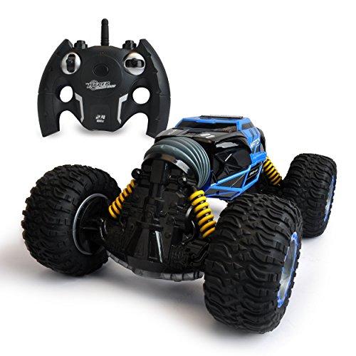 Maximum RC XL RC Auto Twister blau - Ferngesteuertes Auto mit Allradantrieb - wechselt per Knopfdruck die Form