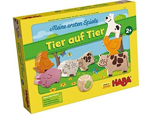 Haba ersten Spiele Tier auf Tier