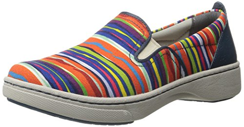 Dansko Belle Multi Stripe Canvas Fashion Sneaker