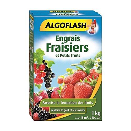 ALGOFLASH Engrais Fraisiers et Petits Fruits, 1 xkg, FRAI1 x