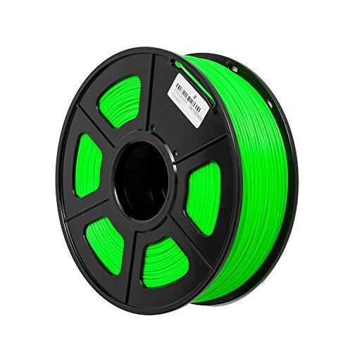 TRITINA 3D Printer Filament ABS 1.75 mm Durchmesser,Maßgenauigkeit ± 0.02 mm,1 kg Spulengewicht,Farben Option (grün)