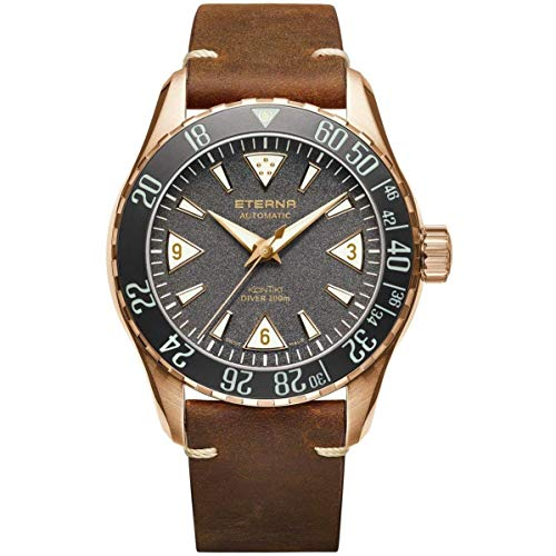 Eterna Men's KonTiki Diver Limited Edition Automatic Watch 1291-78-50-1422