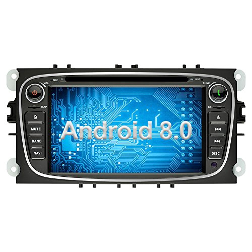 Ohok 2 DIN Android 8.0.0 Autoradio 7 Pulgadas Oreo Octa Core 4GB...