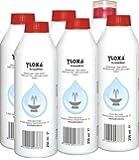 Yloxa KristallKlar - additivo concentrato per fontane, pareti e colonne ad acqua, cascate e nebulizzatori in ambienti interni ed esterni - bottiglia da 6 x 250 ml