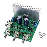 KESOTO Tda7265 Digital Verstärkerplatine TDA7265 HiFi-Verstärker Netzplatine Großer Kühlkörper auf der Rückseite 2X 40W