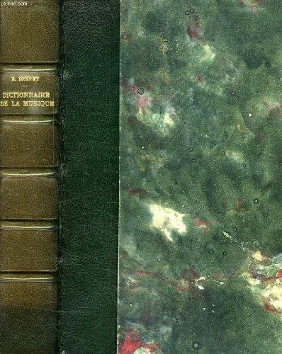 Dictionnaire pratique et historique de la MUSIQUE.