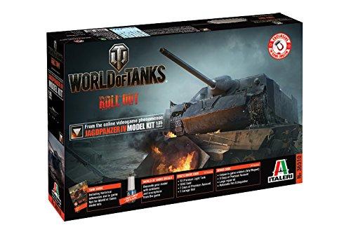 Italeri 36510 1:35 Jagdpanzer IV WoT -