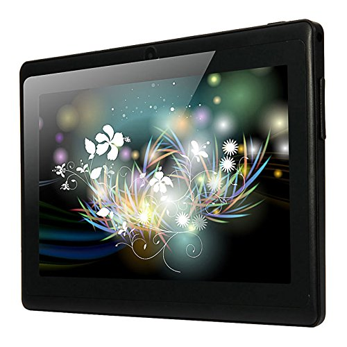 Beautyrain 7 Zoll Allwinner A33 Android_4.4 HD Tablet PC Quad_Core WiFi Blueteeth BT_4.0 Dual_Camera Taschenlampe 1G + 8GB