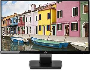 HP 21.5 inch (54.6 cm) LED Monitor - Full HD, IPS Panel with VGA, HDMI Ports - 22W (Black)