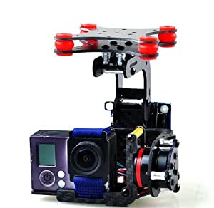 JMT® 1Set Brushless Camera Mount Gimbal Full Set Tested For Gopro 3 FPV Aerial Photography W/ Motor Control Board