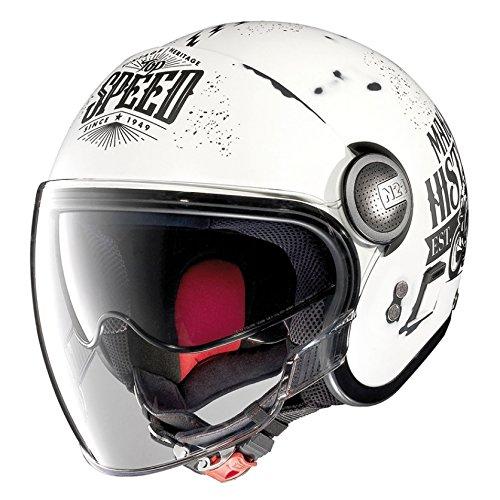 Casco Nolan Jet N21 MotoGP Legends (XL - 62 cm, Bianco)