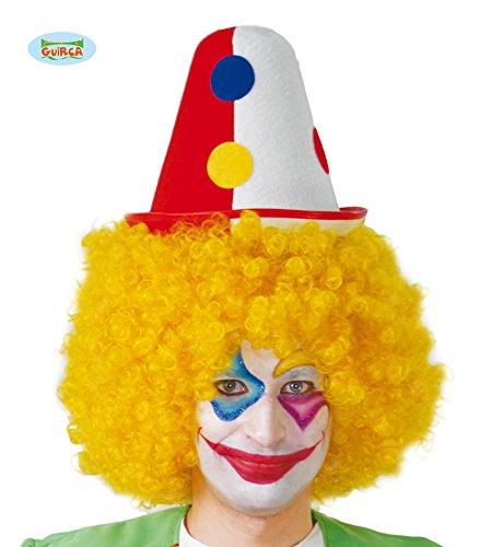 Pinocchio-Clown Hut Filz hart für Erwachsene