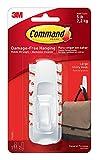 Command Aufhänger-Klebestreifen, mit großem Haken, weiß, 1Stück Großer Haken