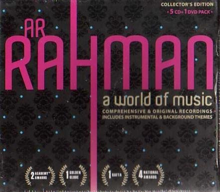 A R Rahman A World Of Music Collectors Edition (5 cd for sale  Delivered anywhere in UK