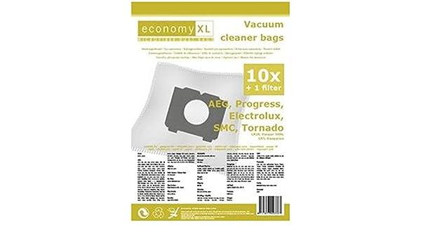 10 Staubsaugerbeutel Economy geeignet für AEG Electrolux 4588 Trio