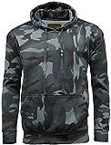 Search : Mens camouflage camo hooded fleece sweatshirt.