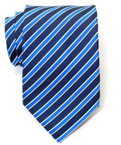 Premium 2-Colour Stripe Woven Men's Band, verschiedene Farben (Tie Woven 2 Polyester)