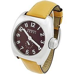 Pasquale Bruni Uomo Edelstahl Swiss Made Automatic Herren-Armbanduhr 01mamarr