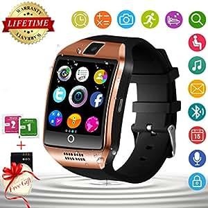 Montre Connectée, Bluetooth Smartwatch Montre Intelligente Etanche ...