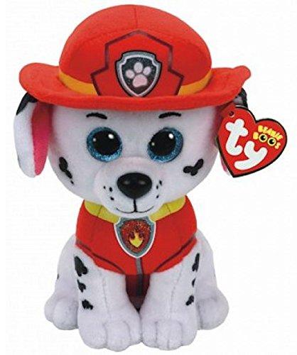 TY Licensed Beanie - Paw Patrol - Marshall, Perfekter Plüsch! (Beanie Santa Boo)