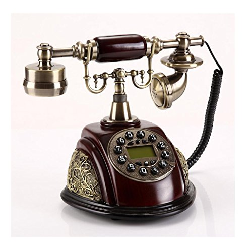 Liu Yu·casa creativo, creativo decorazione marrone casa rilievo tridimensionale del tasto di retro telefono