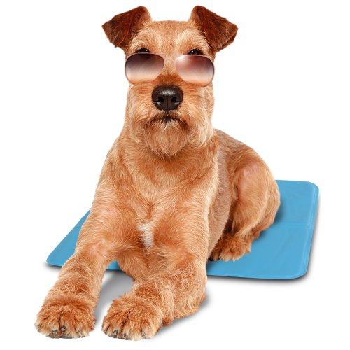 Ferplast Kühlmatte Pet Cool Mat, für Hunde, Maße 40 x 50 x 2 cm, blau - 3