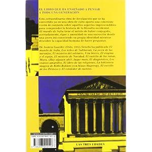 El mundo de Sofía (Las Tres Edades / Biblioteca Gaarder)