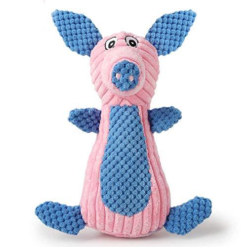 Amphia - Stimmendes Tierhaustierspielzeug der gestreiften Samtfarbe,Lustige Tierform -