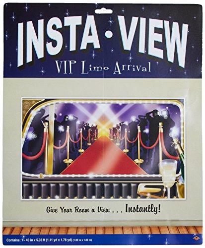 Beistle 52322 VIP Limo Anreise Insta View, 91,4 cm x 1,52 m, 10,2 cm