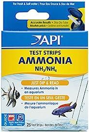 API 5-i-1 testremsor för söt- och saltvattenakvarier