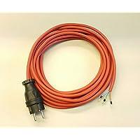 Stromkabel Geräteanschlusskabel Verlängerung H05BQ-F 3x1 25m orange kerbfest
