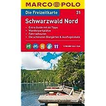 MARCO POLO Freizeitkarte Schwarzwald Nord 1:100.000