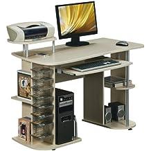 Computertisch Tisch PC-Tisch Computerschreibtisch Ahorn S-352//112 SixBros