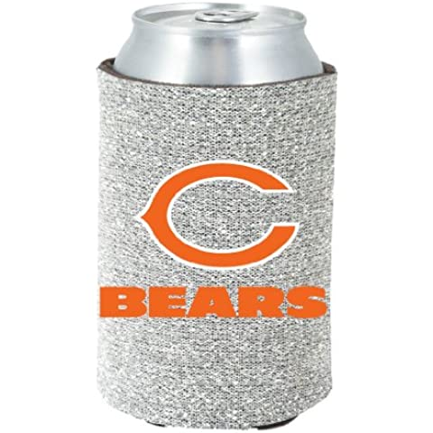 Chicago Bears Glitter Kolder Kaddy Can Holder